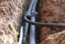 Usazení zavlažovacího potrubí Prostějov