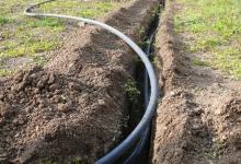 Položení závlahového potrubí Prostějov