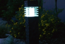 Zahradní osvětlení Olomouc