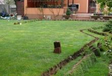 Výkopy pro závlahu Olomouc
