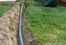 závlahové potrubí