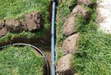 zavlažovací potrubí