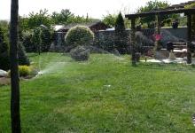 závlaha zahrady
