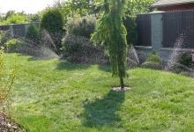 automatická závlaha pro trávník