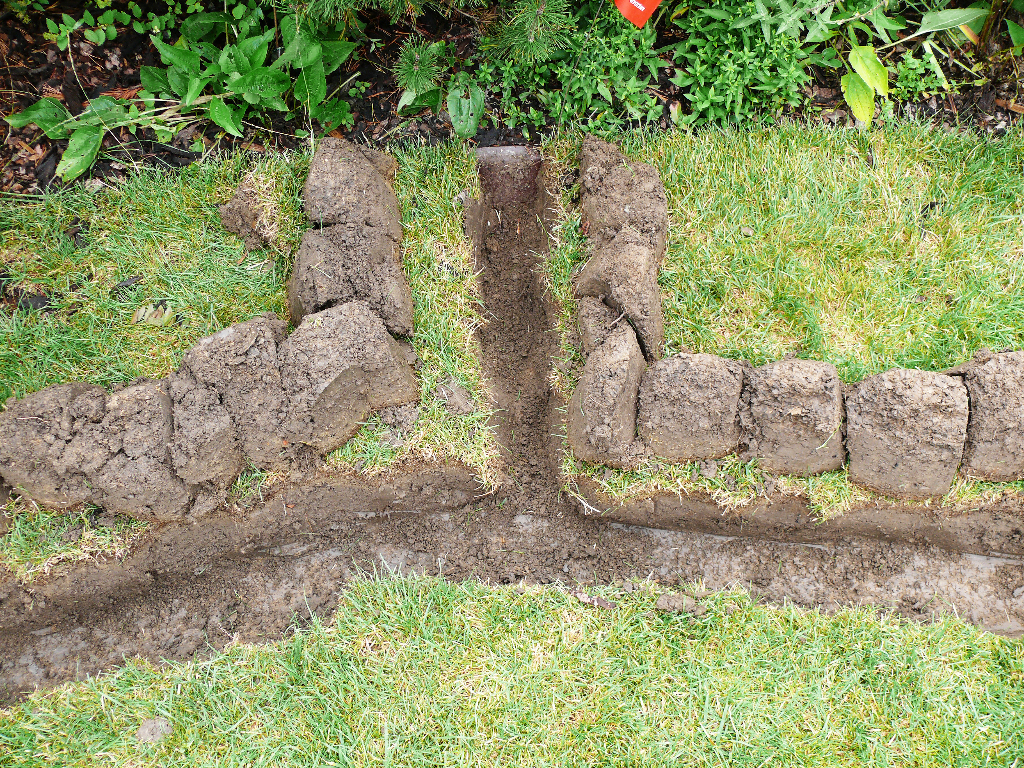 Příprava zahrady pro závlahu - Prostějov